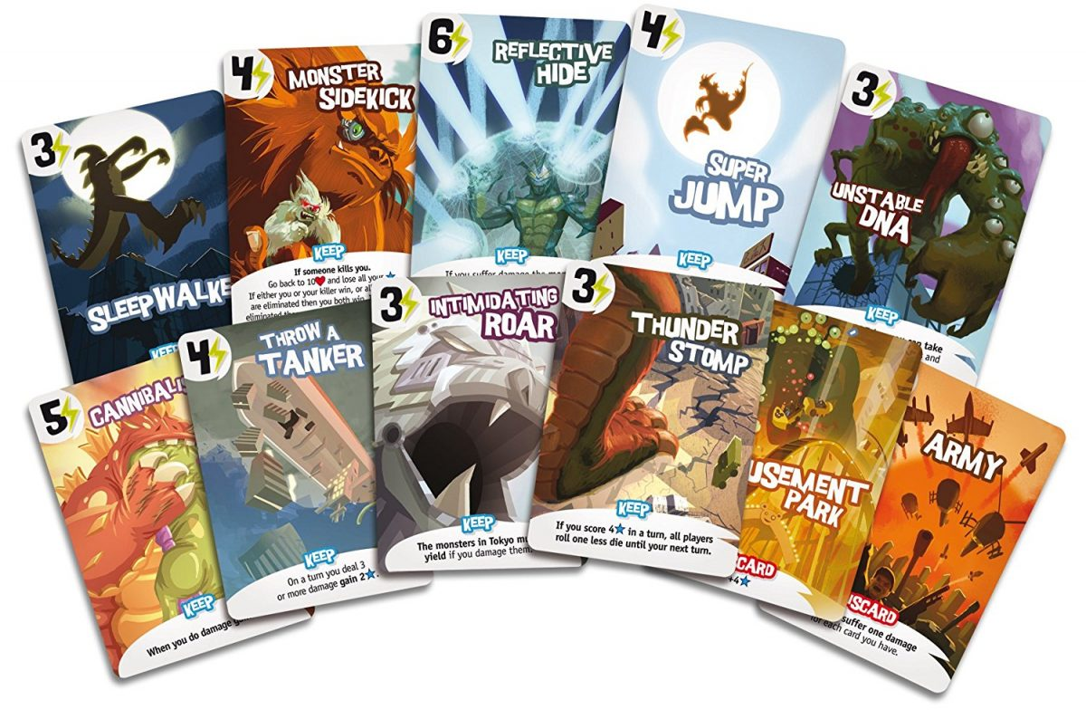 King of Tokyo Cards