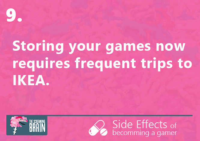 #9 side effect of becoming a gamer
